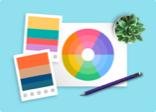 Ottieni facilmente le migliori illustrazioni, palette di colori, font o calendario eventi per i tuoi progetti